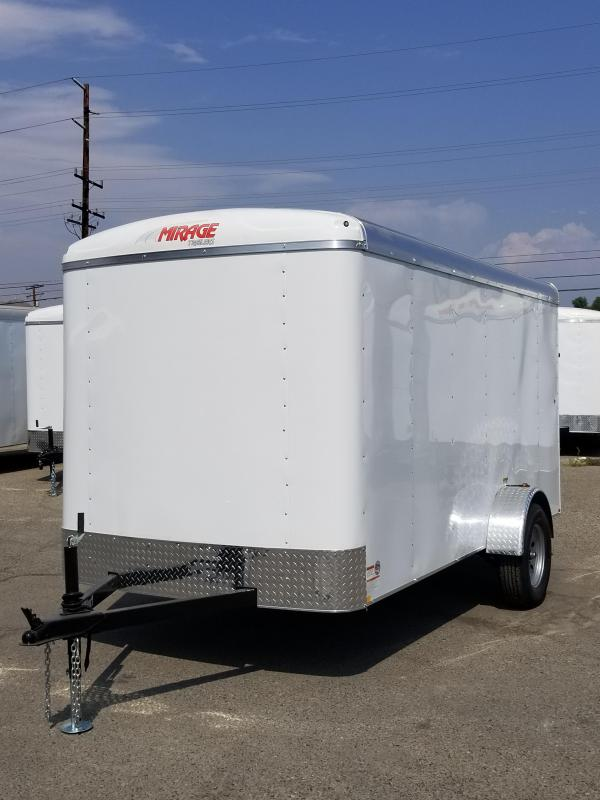 2018 Mirage Trailers XPO 6x12 Enclosed Cargo Trailer