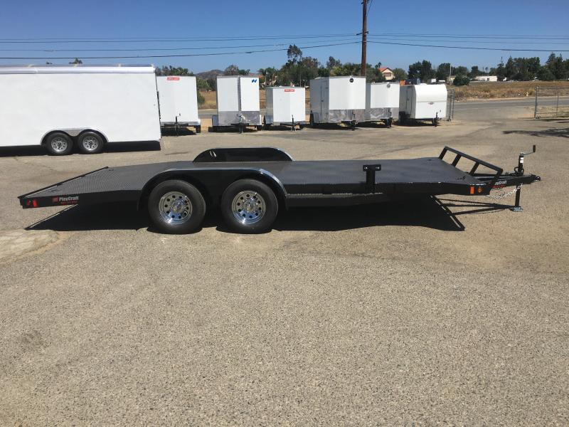 2018 Playcraft 82x16 Champion CAR HAULER ALL STEEL DECK Car / Racing Trailer