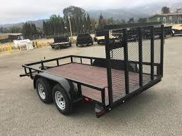 2018 Playcraft Light Utility 77x14 Utility Trailer