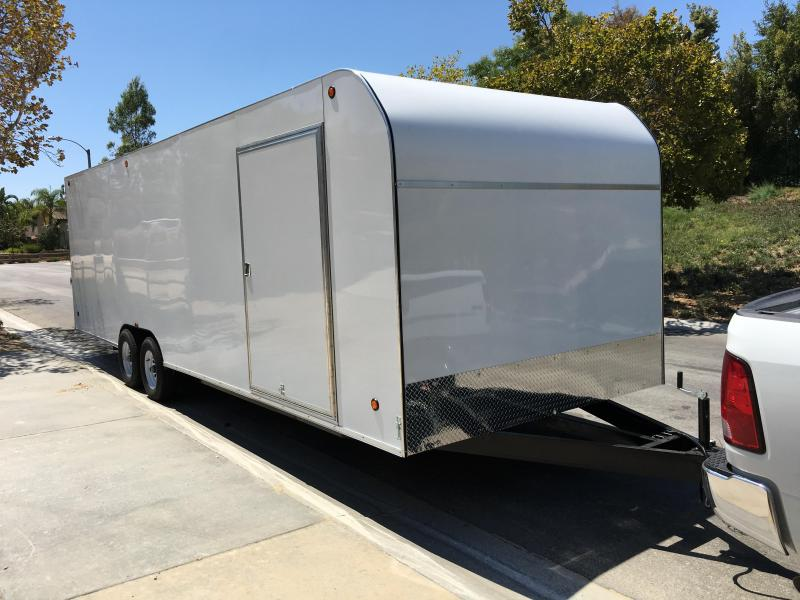 2017 Apache 8.5X28 Enclosed Cargo Trailer