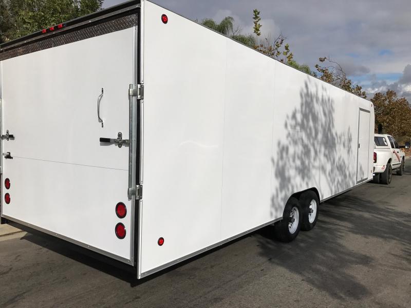 2017 Apache 8.5X28 Enclosed Cargo Trailer