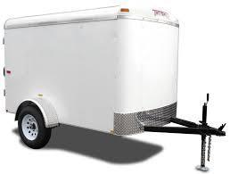 2018 Mirage Trailers MXPO58SA2 Enclosed Cargo Trailer