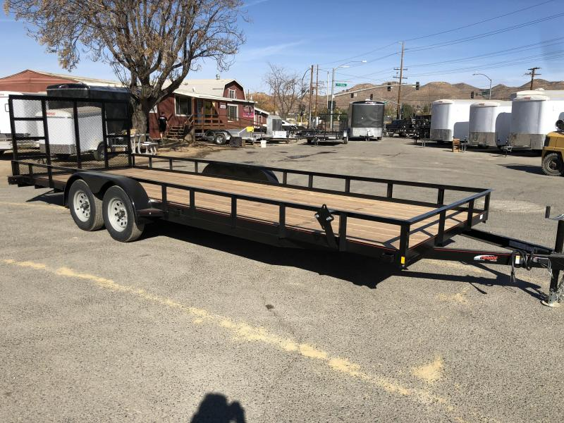 2018 Mirage Trailers  7x22 Utility Trailer
