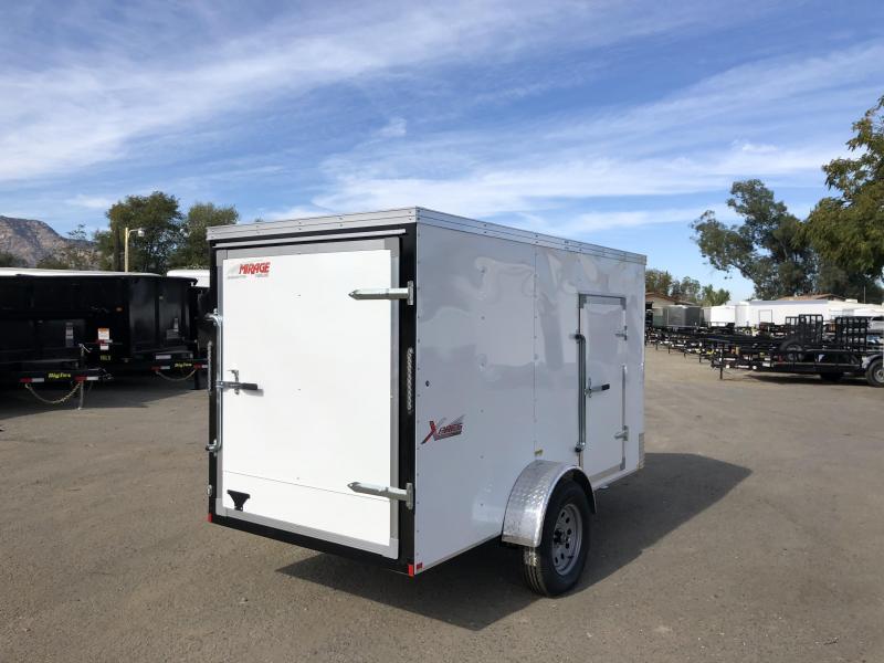 2019 Mirage Trailers MXPS 5x10 Enclosed Cargo Trailer