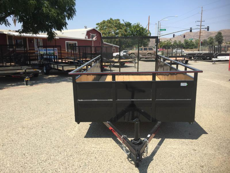 2019 Mirage Trailers 6x12 Landscape Equipment Trailer