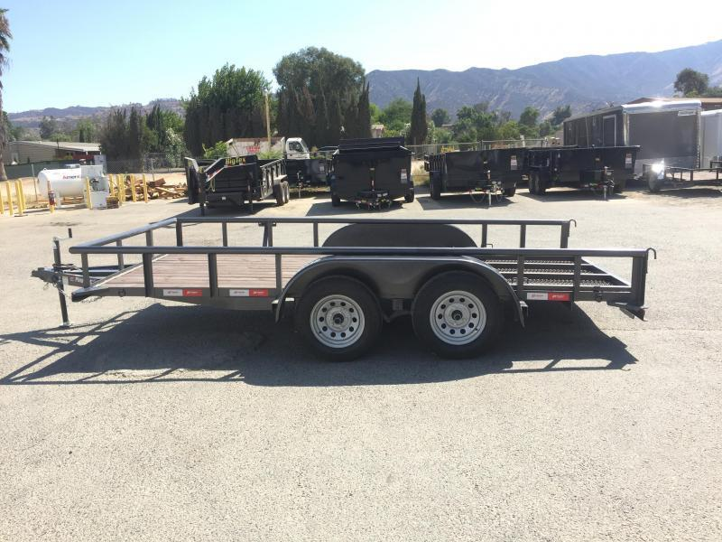 2017 Playcraft 82X14 Pipetop Utility Trailer