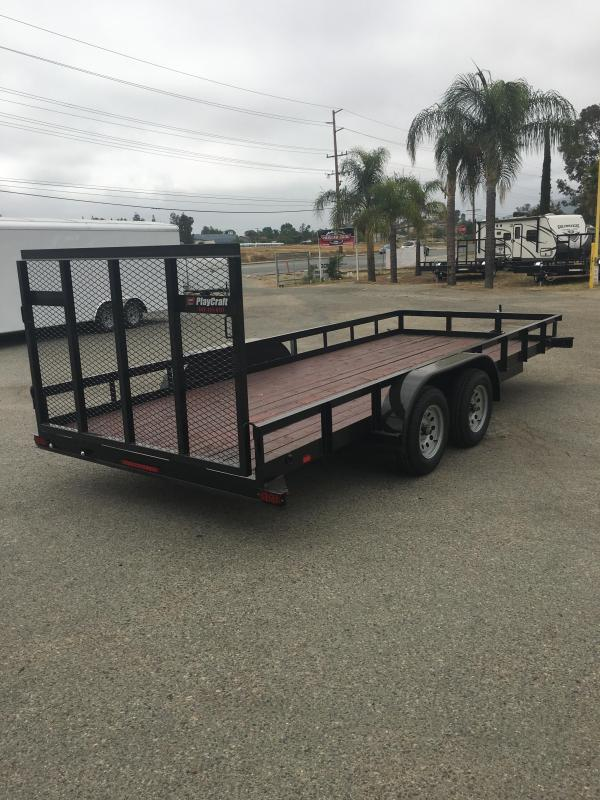 2018 Sun Country SUTA 77 x 12 Utility Trailer