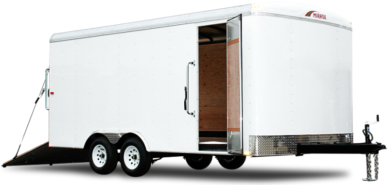 2019 Mirage Trailers MXPO 8.5x16 Enclosed Cargo Trailer