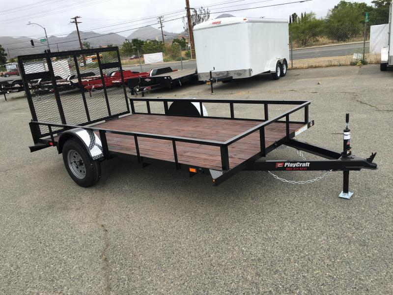 2018 Sun Country 77X14 SUSA Utility Trailer