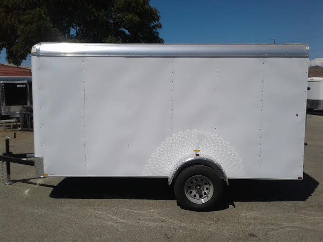 2019 Mirage Trailers XPO 6X12SA Enclosed Cargo Trailer