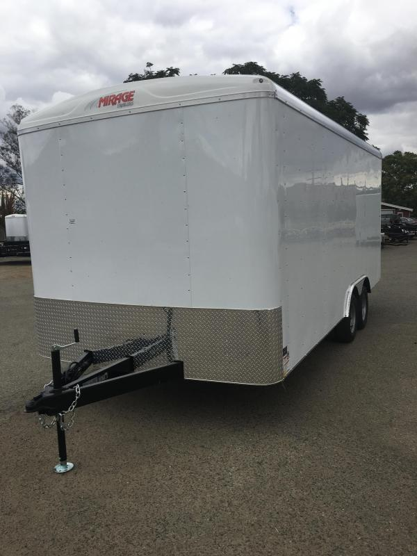 2018 Mirage Trailers MXL8.5x18TA2 Enclosed Cargo Trailer