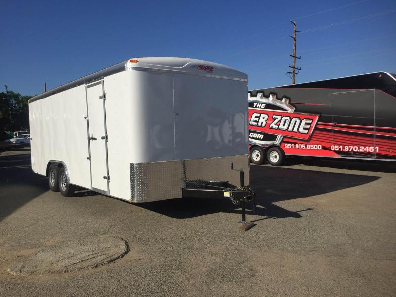 2018 Mirage Trailers MXPO8.5X20TA3 Enclosed Cargo Trailer