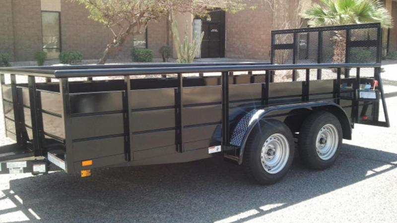 2019 Playcraft 77X12 LANDSCAPE Utility Trailer in Ashburn, VA