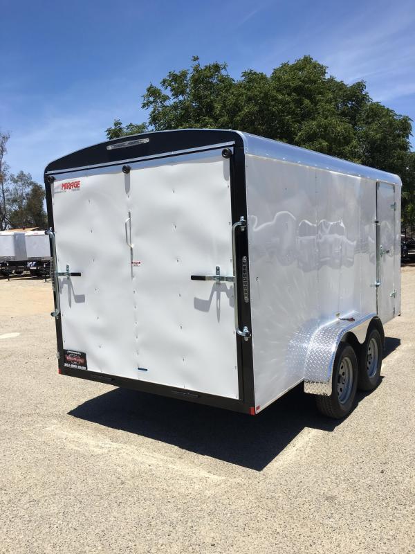 2019 Mirage Trailers 7x16 Enclosed Cargo Trailer