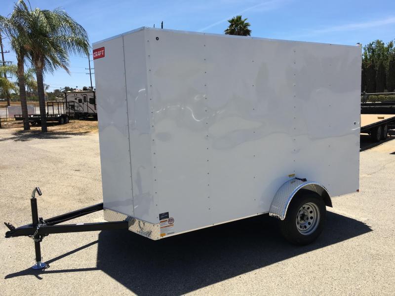 2019 Mirage Trailers 6x10SA Enclosed Cargo Trailer