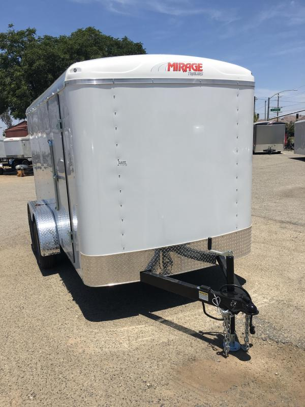 2019 Mirage Trailers 6x12 XPO Enclosed Cargo Trailer