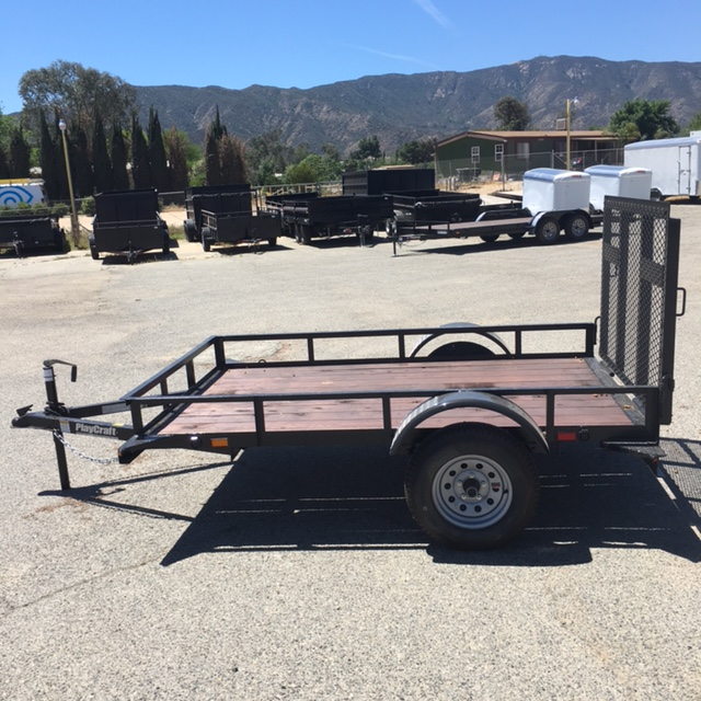 2018 Sun Country 77x10 su-sa Utility Trailer