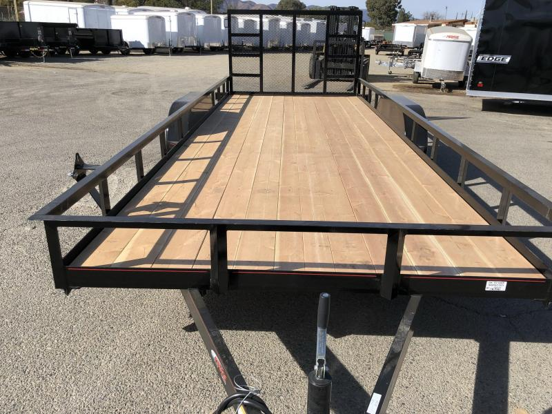 2018 Mirage Trailers  7x18 Utility Trailer Utility Trailer