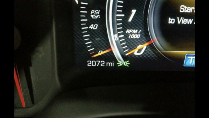 2017 Chevrolet CORVETTE GRN SPT3LT Car