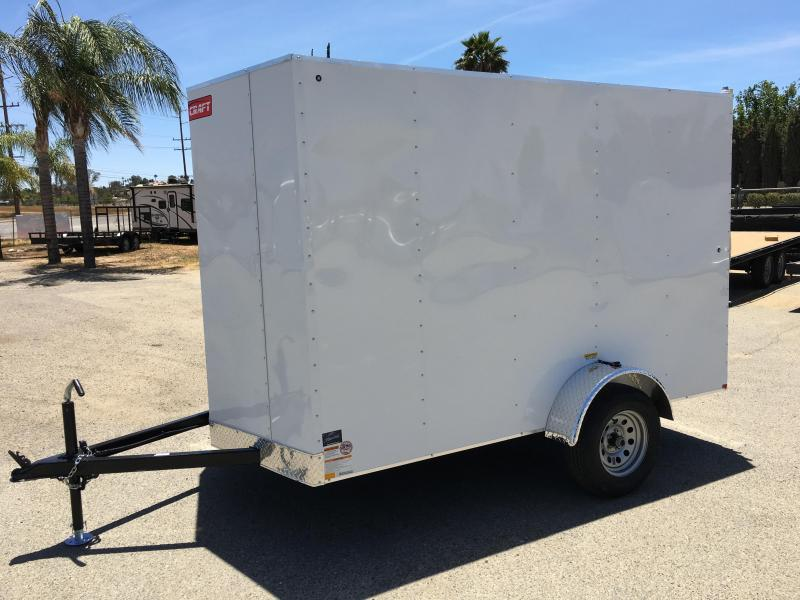 2018 Mirage Trailers MCC 6x10 SA Enclosed Cargo Trailer