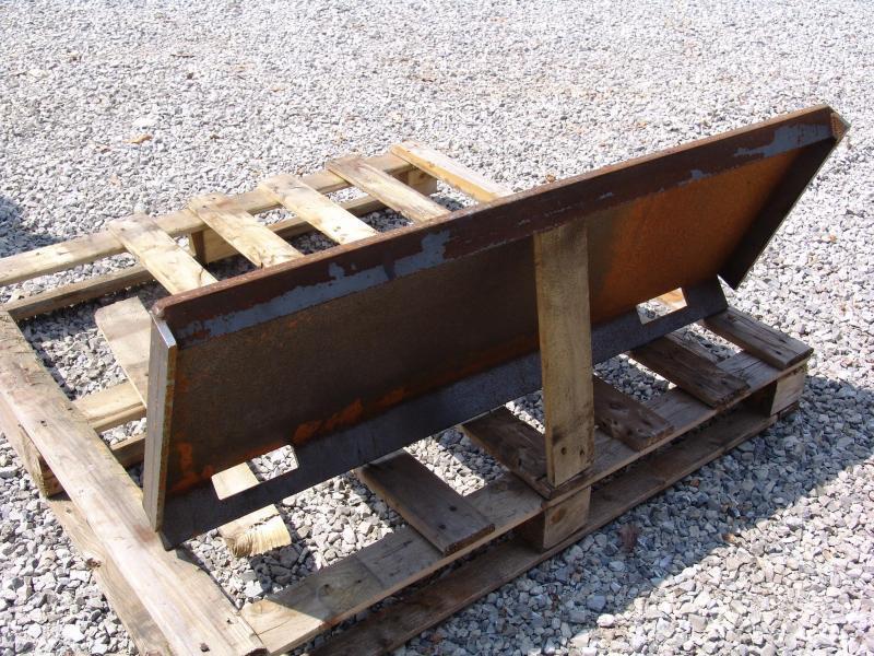 """SOEC 1/4"""" Universal Skid Steer Mounting Plate Truck Bed / Equipment"""