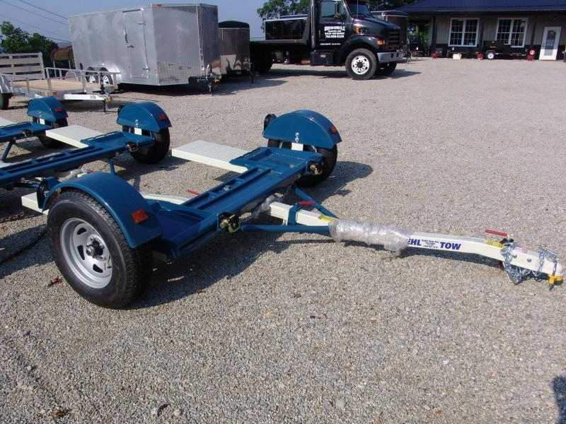 Stehl ST80TD Tow Dolly w/ Electric Brakes LED Lights Radial Tires