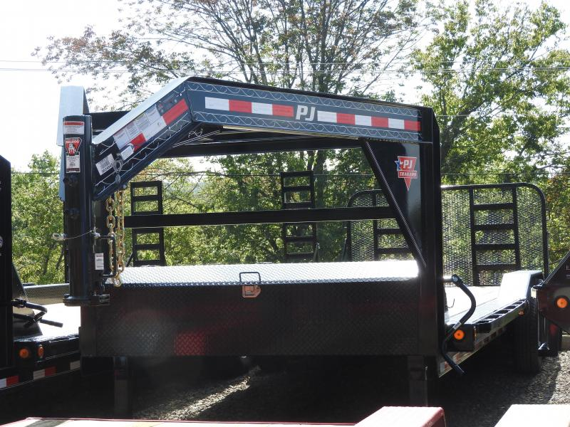 2020 PJ B6 24 x 102 Flatbed Trailer w/ HD Ramp Gate