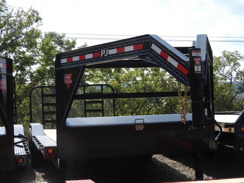 2020 PJ B6 24 x 102 Flatbed Trailer w/ HD Ramp Gate