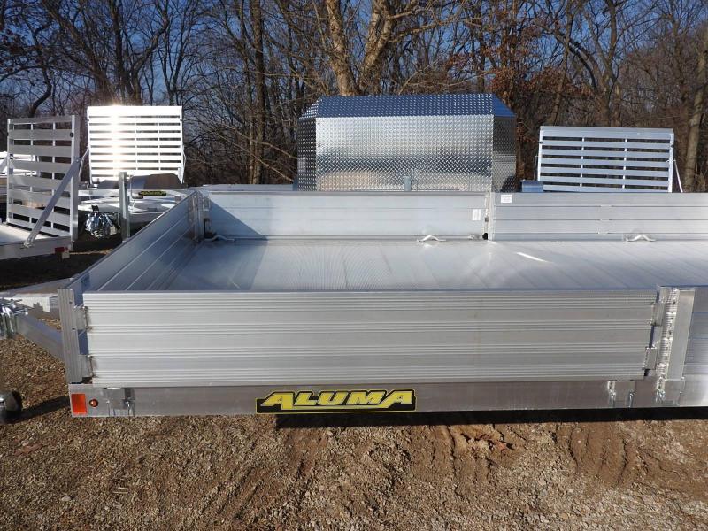 2020 Aluma 81x14 Utility Trailer