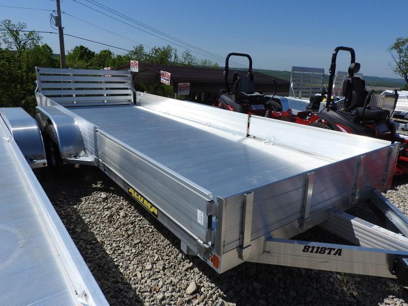 2020 Aluma 81x18TA Utility Trailer