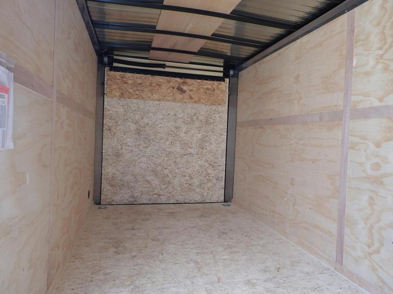 """2020 RC Trailers RWT 7' x 16' w/ 6"""" Extra Height Enclosed Cargo Trailer"""