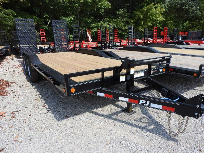 "2019 PJ B6 20' x102""  HD Ramps Car / Racing Trailer"