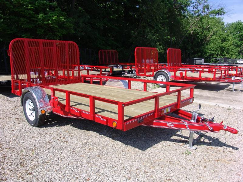 2019 PJ U8 12' x 83' Utility Trailer Ramp Gate