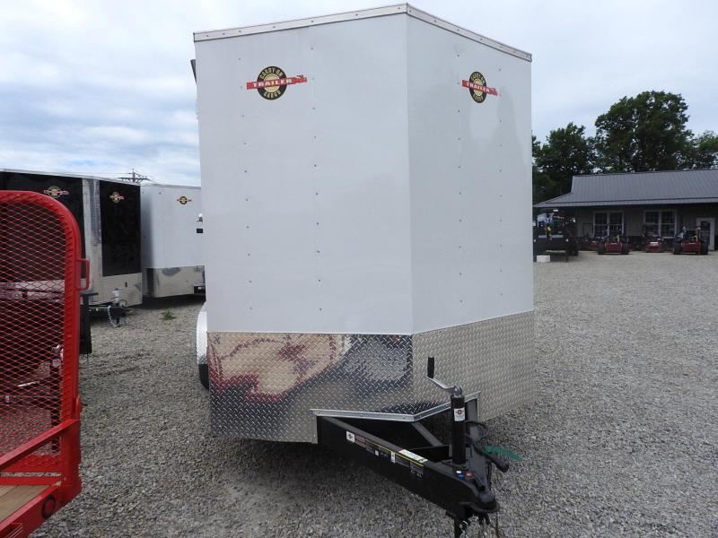 """2019 Carry-On 7x16 w/ 9"""" Extra Height Enclosed Trailer"""