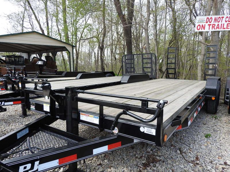"2020 PJ CC 83"" x 22'  Equipment Trailer"