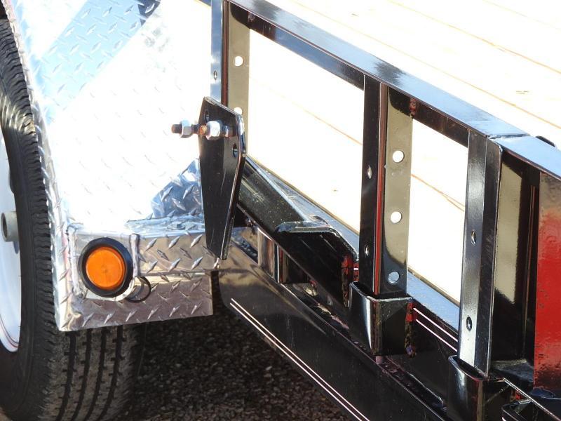 """2019 PJ UL 20' x 83"""" w/ ATV Ramps Utility Trailer"""