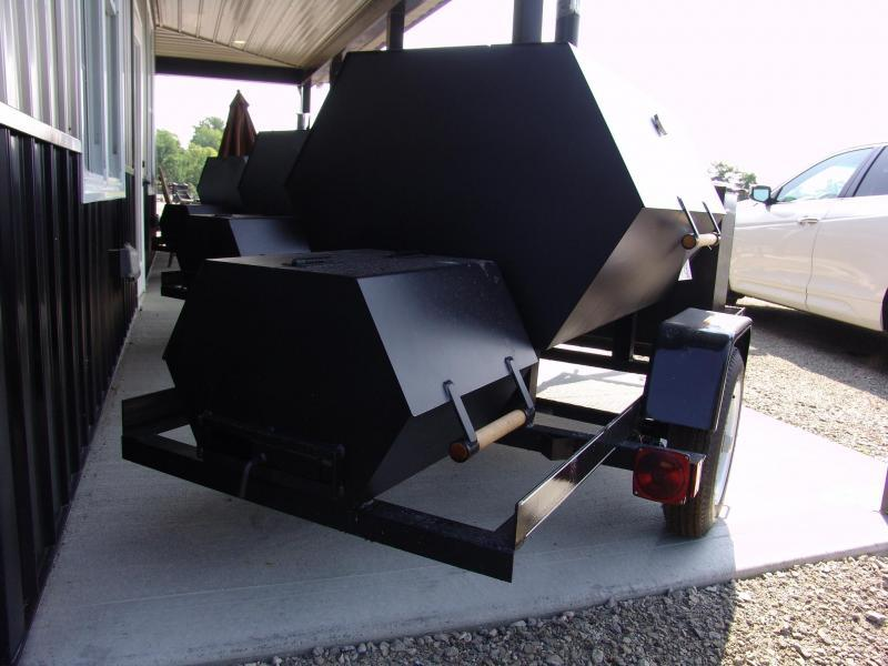 2018 Carry-On 3X4GT Smoker Trailer S&D