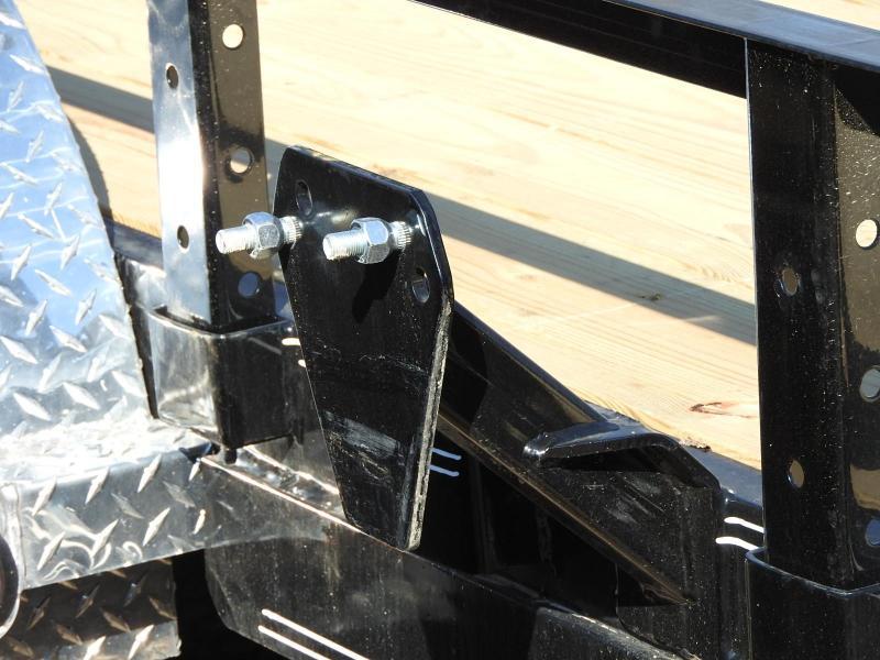 """2020 PJ UL 20' x 83"""" w/ ATV Ramps Utility Trailer"""