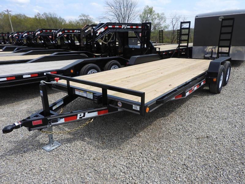 2020 PJ CE 20 x 83 Equipment Trailer