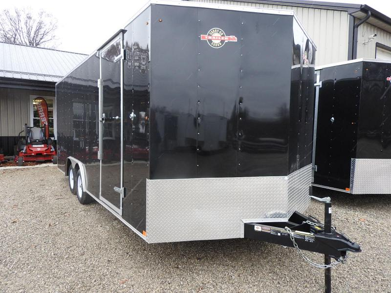 """2019 Carry-On 8.5x20 CGRCM7K w/ 9"""" Extra Height Enclosed Trailer"""
