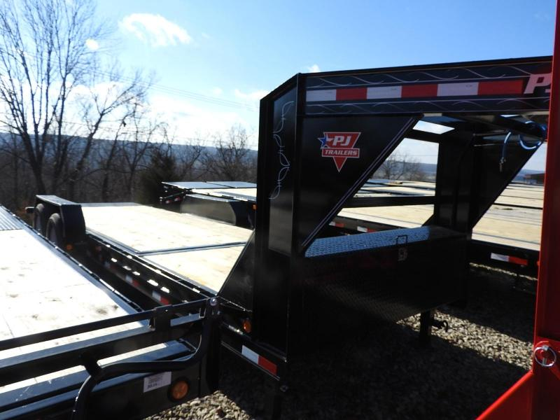 "2019 PJ Trailers T6 22' x 82"" GN Equipment Tilt Trailer"