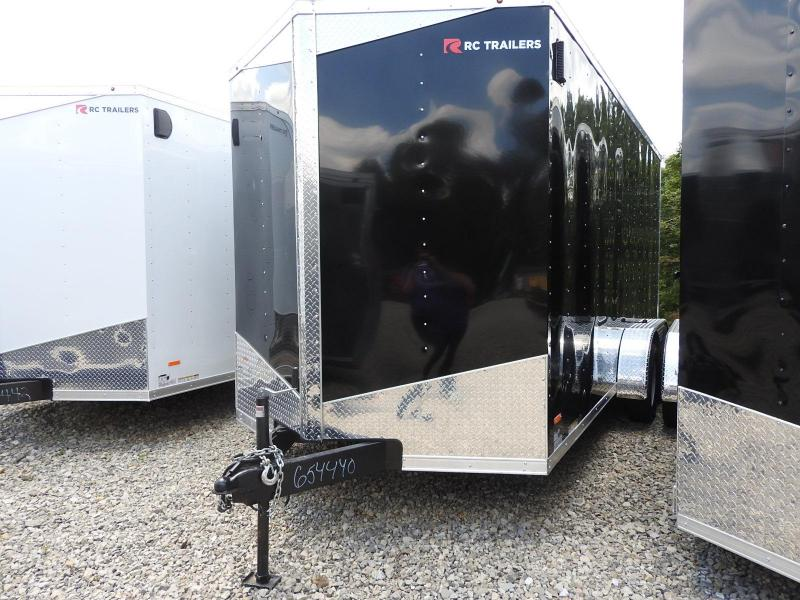 2020 RC RWT 7 X 16 W/ 12in. Extra Height  Enclosed Cargo Trailer