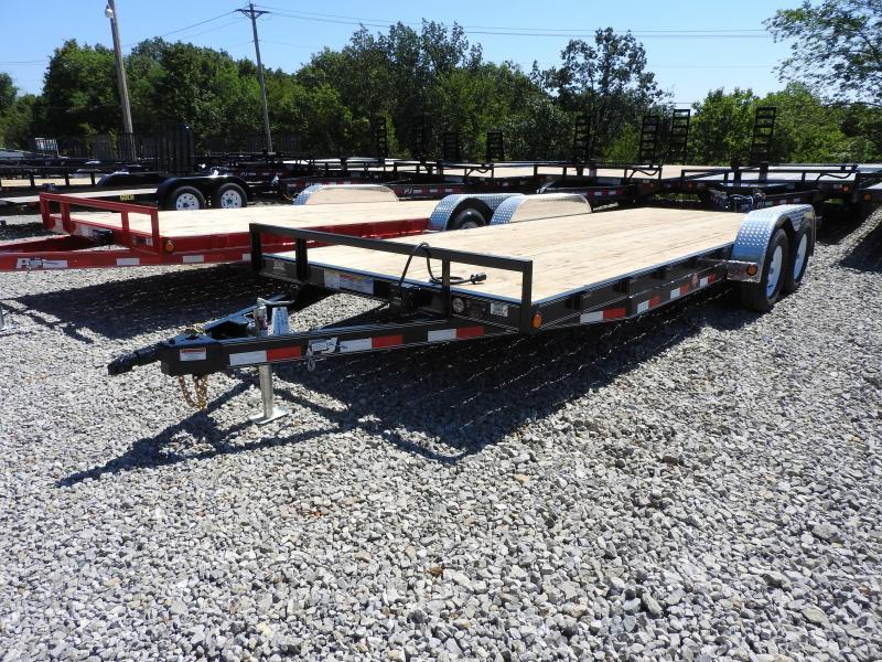 "2019 PJ C5 20' x 83"" Trailer 7000 GVW Slide In Ramps"