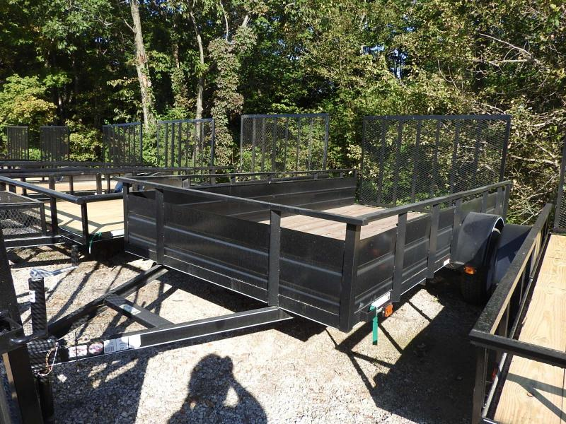 2019 Carry-On 6x12SSG Utility Trailer S&D