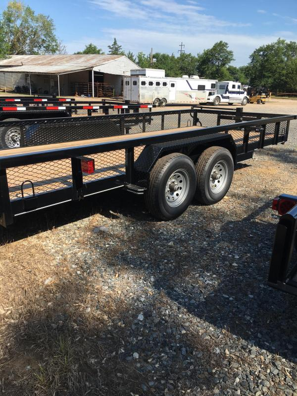 2019 Performance Trailers HP7720 Utility Trailer