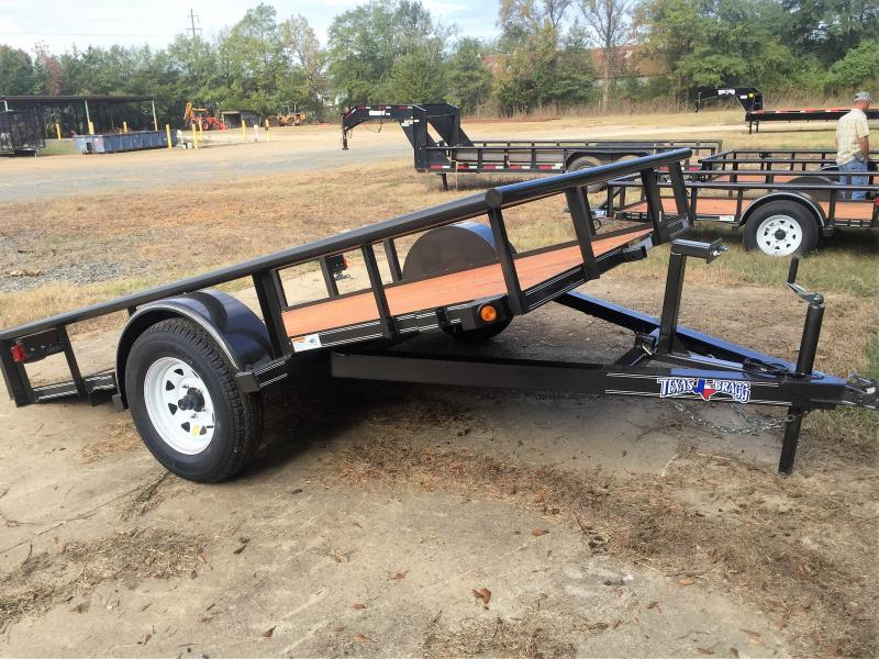 2017 Texas Bragg Trailer 6 X 10 (77 wide) Pipe Top Utility Trailer