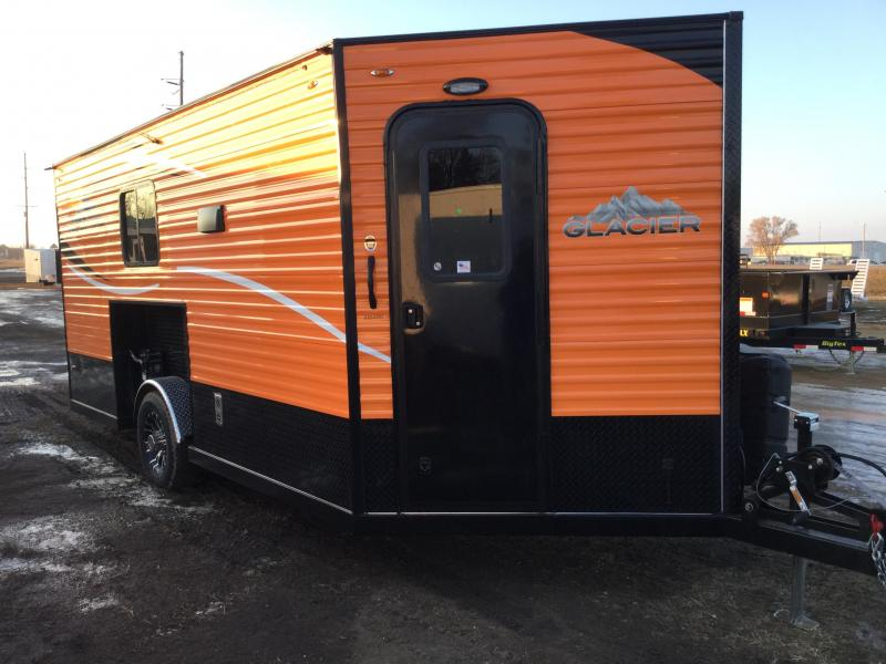 2019 Glacier 16FT Ice/Fish House Trailer