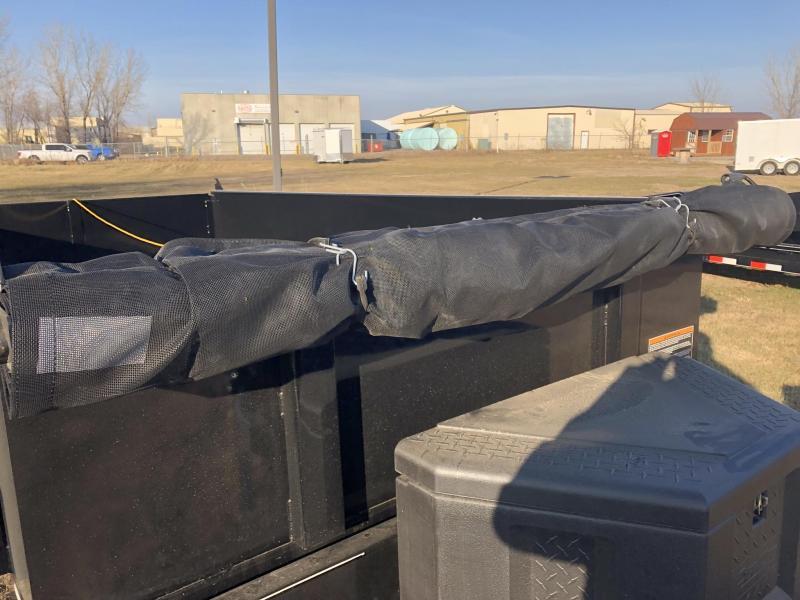 2019 DCT 80X14 LOW PRO DUMP W/TARP Dump Trailer