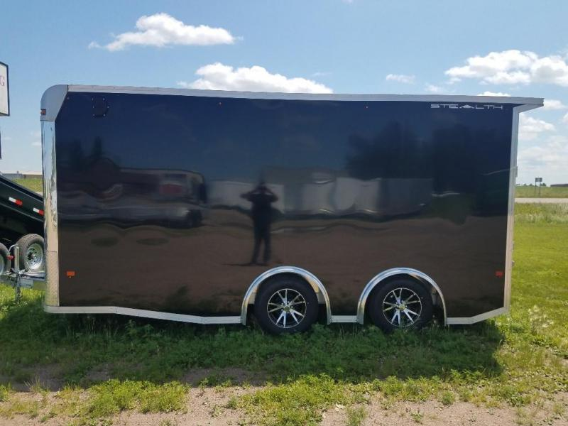 2019 Alcom-Stealth C8X16 SCH Enclosed Cargo Trailer