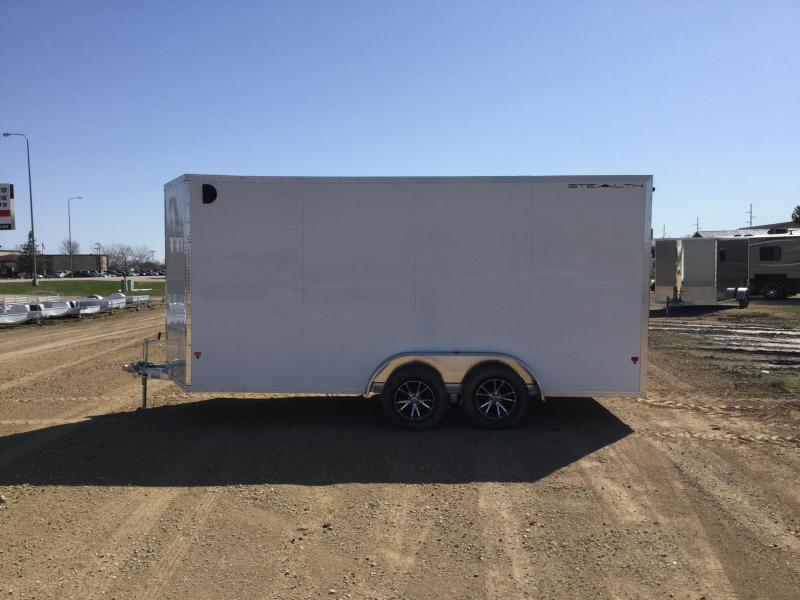 2019 Alcom-Stealth 7.5x16 Enclosed Cargo Trailer